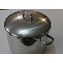 Heavy Stainless Steel Stock Pot 12qt