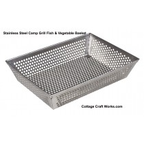 USA Camp Stir-Fry Cooking, Industrial Strainer Basket