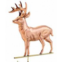 Standing Deer Copper Weathervane