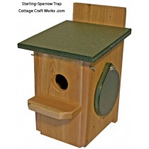 Single Catch Sparrow-Starling Trap