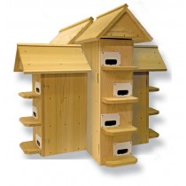 Troyer T-14 Cedar Purple Martin House