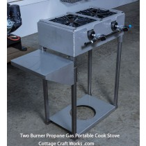 Professional  2  burner LP Gas Portable Cook Stove