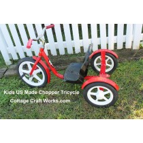 Kids USA Metal Chopper Tricycle