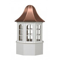The Villa Window Cupola Poly