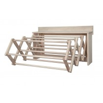Wall Hung Accordion Clothes Drying Rack