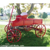Scaled Buckboard wagons