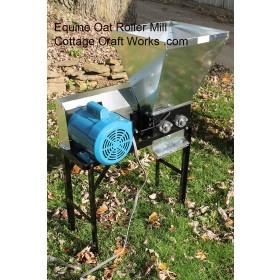Equine Oat Crimper | Roller Mill | Horse Equipment | Crimper