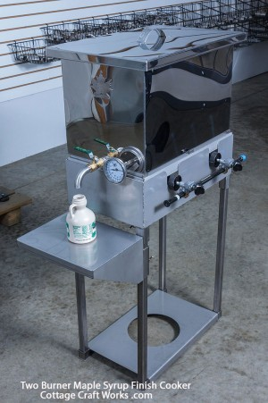 Hobby Farm Two Burner Gas Syrup Finisher