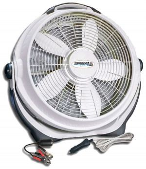 20 Inch 12 Volt DC Circulating Fan | RV | Off-Grid