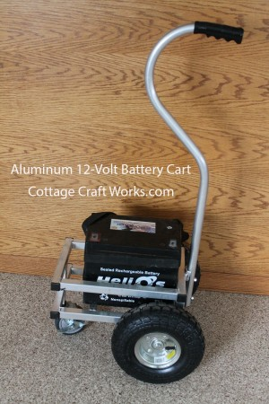 Battery Dolly Cart