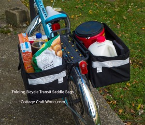Bicycle Cargo Saddle Bags