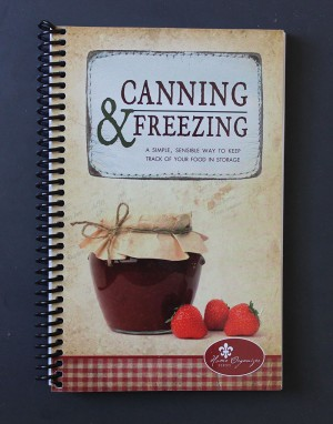 Canning & Freezing Paper Diary Journal