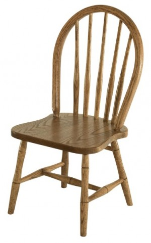 Childs Spindle Oak Bow Chair