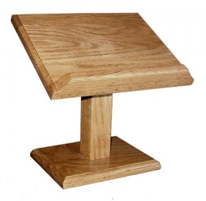 Cookbook-Bible-Book-Stand Oak