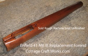 Enfield Number 1 MK III Replacement Forearm-Forend