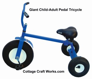 Giant Child- Adult Trike in Blue