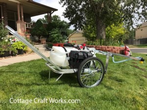 Wheeled Garden-Yard-Farm Sprayer