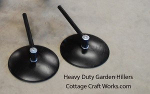 Heavy Duty Garden Row Hiller Disc