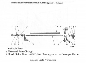 IHC Corn Binder Conveyor Parts