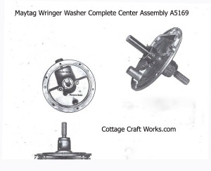 Maytag Wringer Washer Center Plate Assembly A5169
