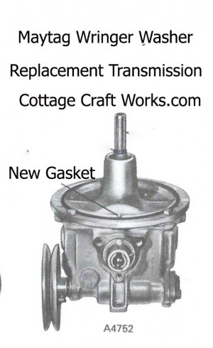 Maytag Wringer Washer Replacement Transmission Power Unit A4752