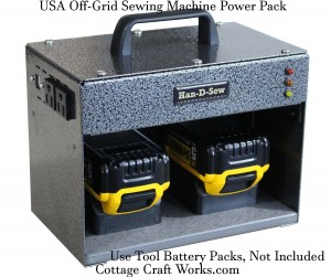 Sewing Machine DC 110V Power Pack Hand-D-Sew