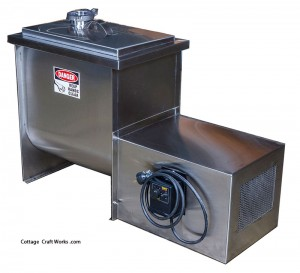 Stainless 8 Gallon Commercial | Small Dairy | Butter Churn