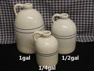 USA Stoneware | Whiskey Jugs | ¼-1 Gallon Sizes