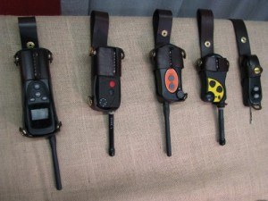 Hunters Dog Leather Transmitter Pouches
