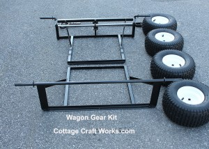Wagon Frame and Wheel Kit