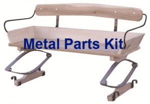 Authentic Working Wagon Seat Hardware Kit