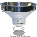 Large Stainless Milk-Syrup Strainer